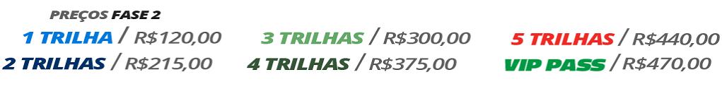 Tabela de Pacotes de Preços da Fase 1
